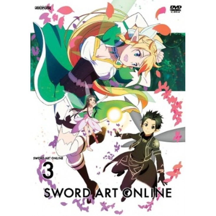Sword Art Online (S.A.O) DVD 3: Fairy Dance Part 1
