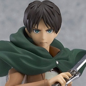 Attack on Titan - Figma Eren Yeager Action Figure (7/2014)