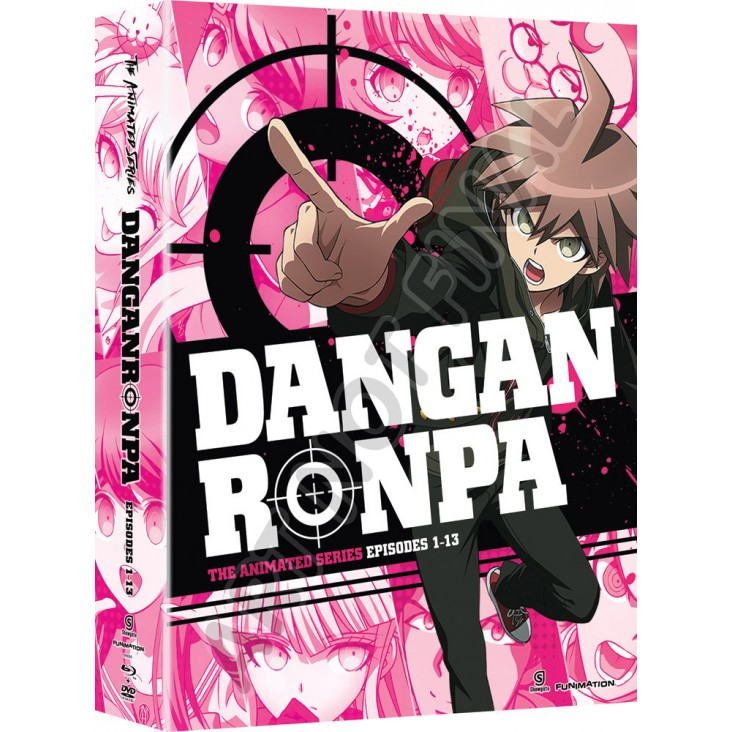 Danganronpa Complete Series Limited Edition [DVD+Blu-ray]