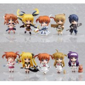Nendoroid Petite: Lyrical Nanoha - The 1st Movie Action Figures (Display of 11)