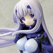 Muv-Luv Alternative - 1/7 Inia Sestina Eishi Kyoukasoubi Plug Suit PVC Figure (12/2013)
