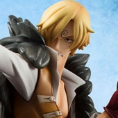 One Piece - 1/8 Sanji Edition Z P.O.P PVC Figure (12/2013)