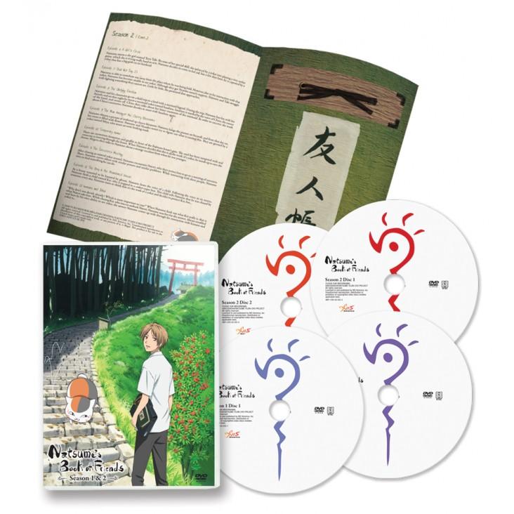 Natsume's Book of Friends Seasons 1-2 Set [DVD]