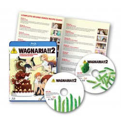 Wagnaria!! 2 Complete Series [Blu-ray]