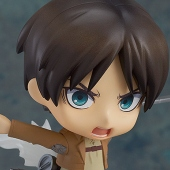 Nendoroid: Attack on Titan - Eren Yeager Action Figure (7/2014)