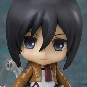 Nendoroid: Attack on Titan - Mikasa Ackerman Action Figure (4/2014)