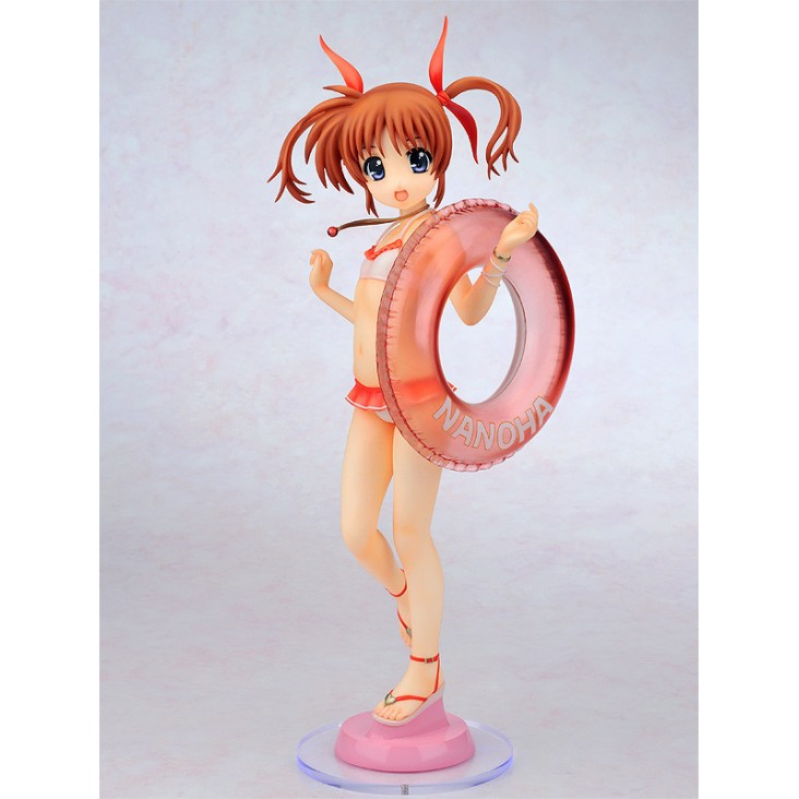 Lyrical Nanoha StrikerS - 1/4 Nanoha Takamachi Swimsuit Ver. (Gift) PVC Figure