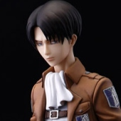 Attack on Titan - 1/8 Levi PVC Figure (4/2014)