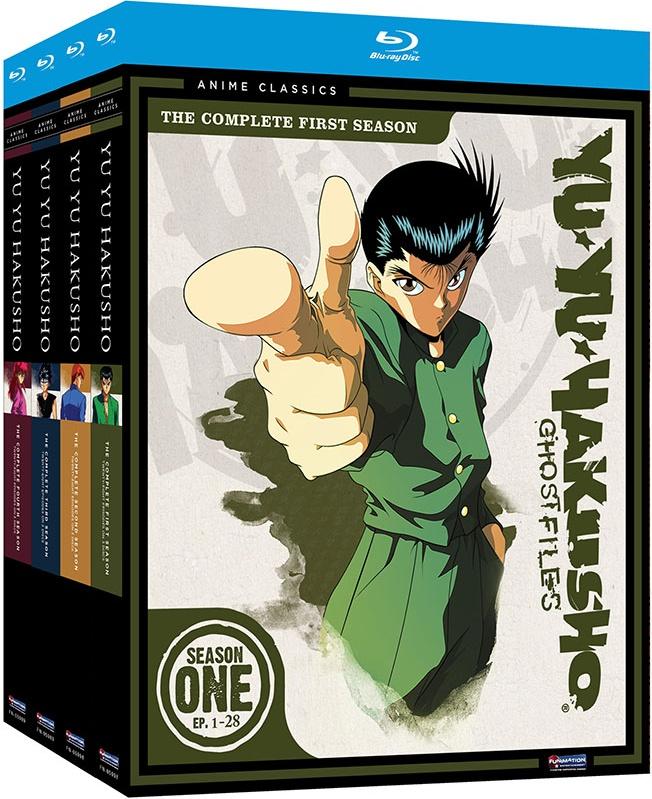 Yu Yu Hakusho Complete Series Seasons 1,2,3 & 4 Ep. 1-112