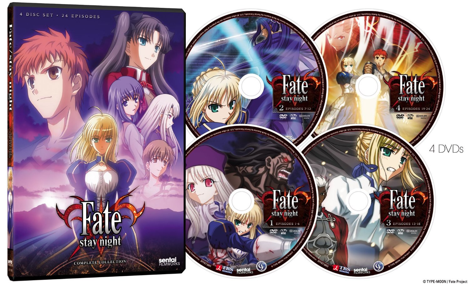 Fate Anime Series Release Dates