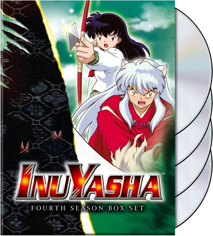 InuYasha Uncut Season 4 EP 82 99 4 Disc Anime DVD R1 Viz