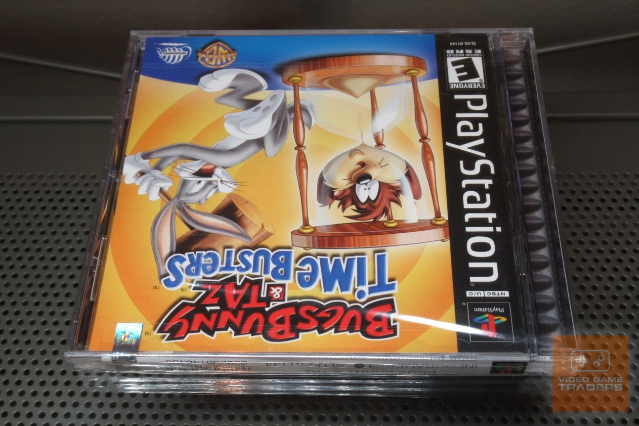 Bugs Bunny & Taz: Time Busters (PlayStation 1 PS1) FACTORY