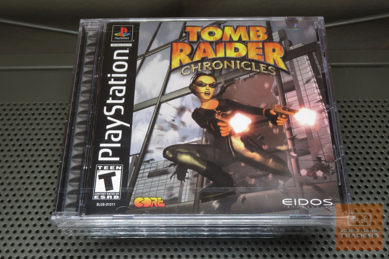 Tomb Raider Chronicles Playstation 1 Ps1 2000 Factory Sealed