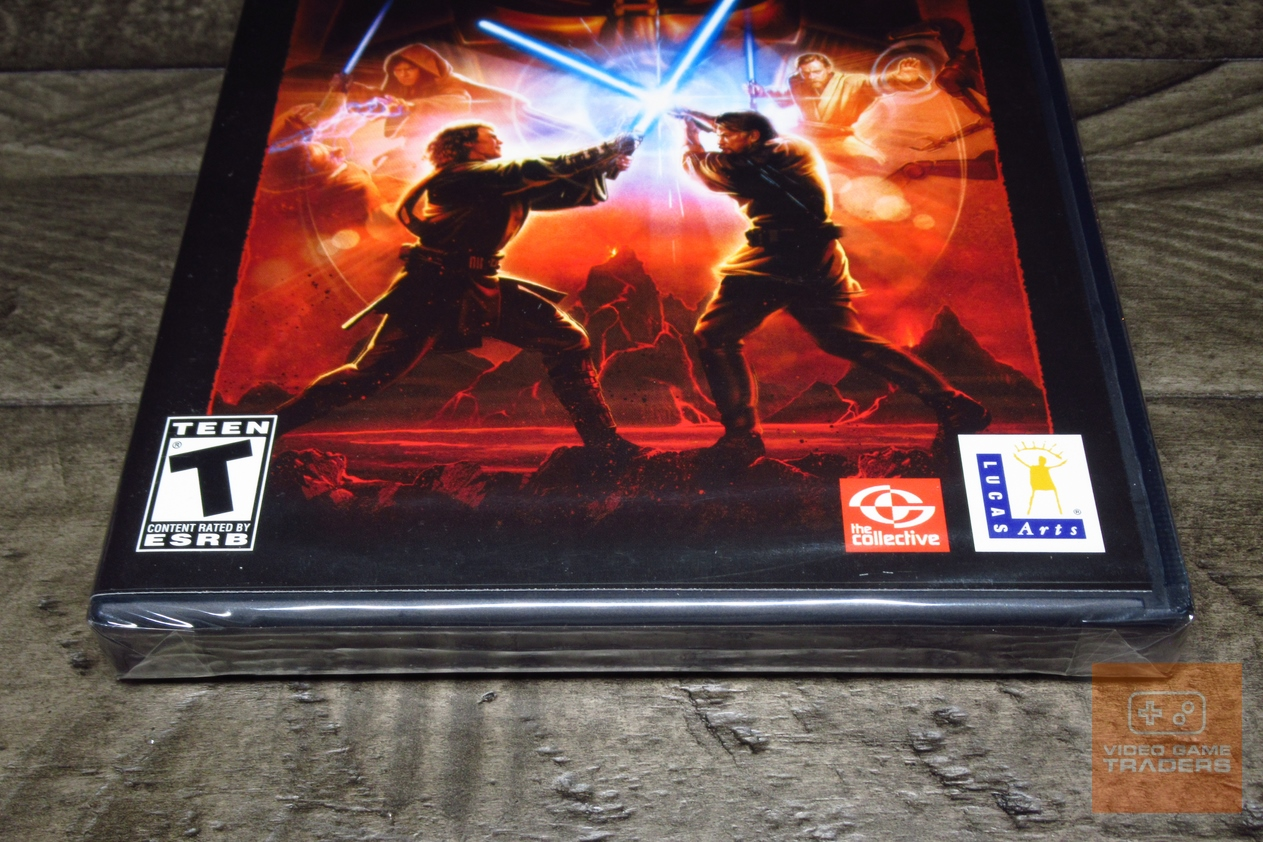 Star Wars Episode Iii Revenge Of The Sith Playstation 2 Ps2 Factory Sealed Ebay
