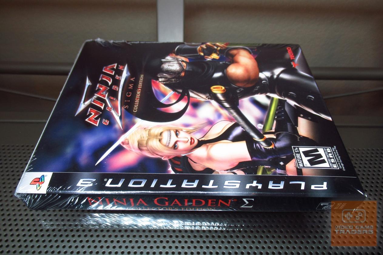 Ninja Gaiden Sigma Collector S Edition Playstation 3 Ps3 2007