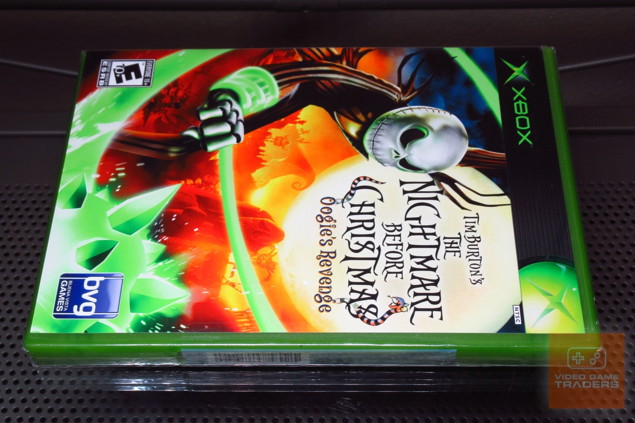 The Nightmare Before Christmas: Oogie\'s Revenge (Xbox 2005) FACTORY ...